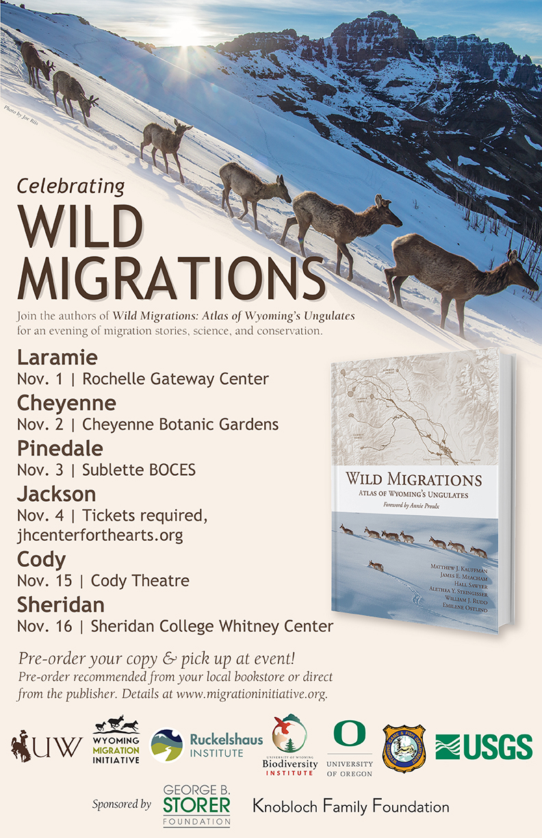 Wild Migrations poster